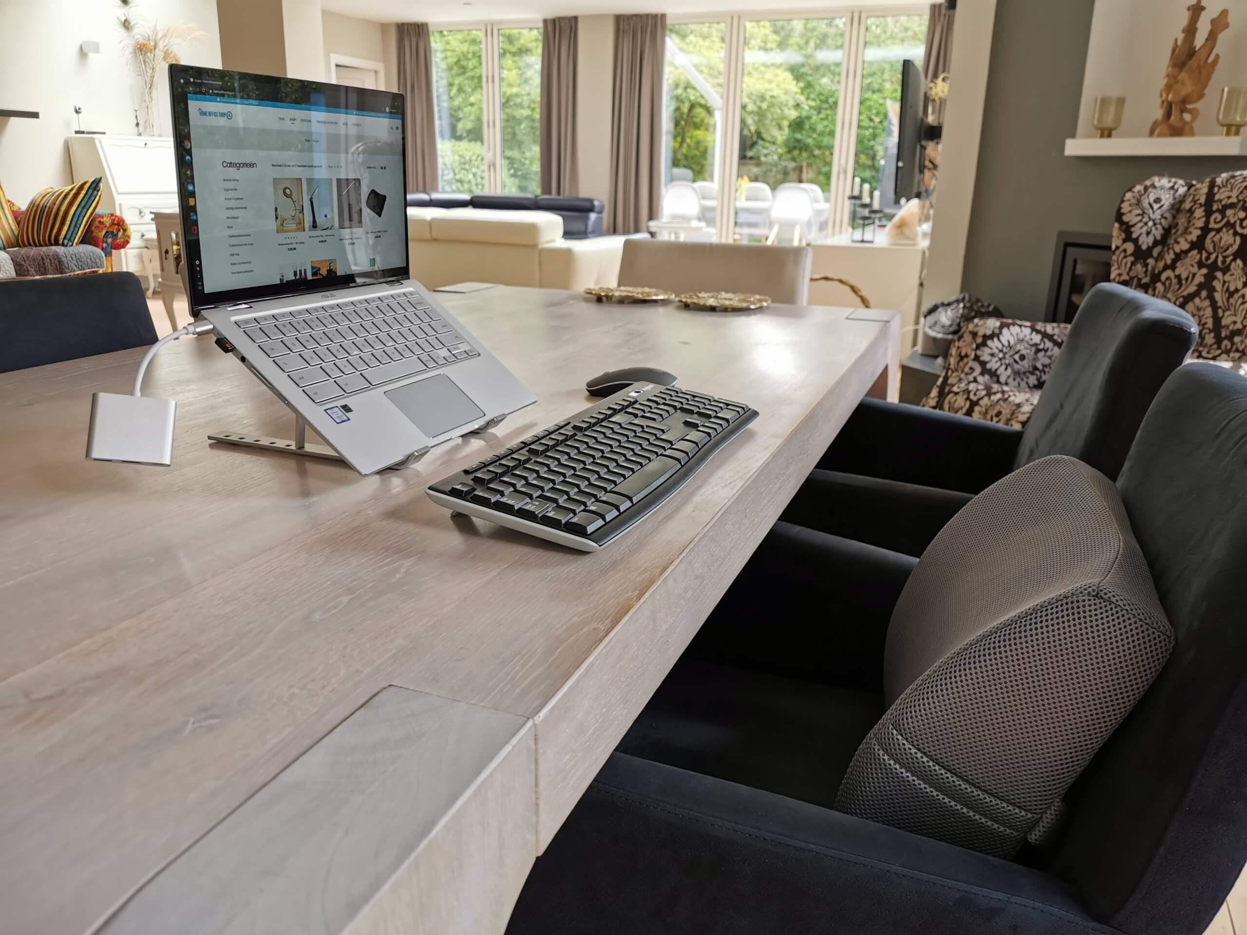 thuiswerken en video conferencing zijn blijvertjes