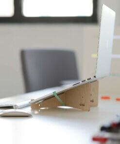 houten laptop standaard stood 2