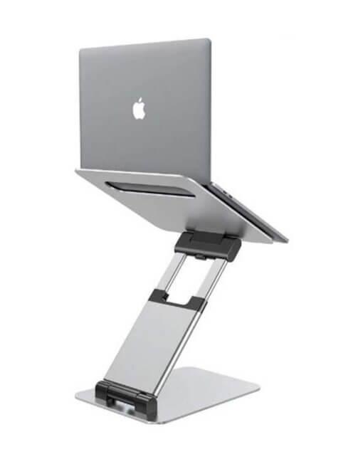 Zit sta verhoger Aluminium STAN voor de laptop
